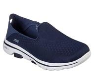 Skechers Go Walk 5 [15927NVY] 女鞋 運動 健走 休閒 避震 懶人 舒適 透氣 穿搭 藍白