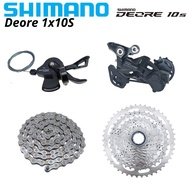 SHIMANO DEORE M4100 M5120 1x10 Speed Groupset MTB Mountain Bike SL-M4100 Shift Lever RD-M5120 Rear D