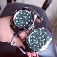 【*】ROLEX情侶對錶 勞力士男士手表勞力士機械機芯腕表綠水鬼金鬼藍鬼黑水鬼
