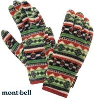 Mont-Bell 小朋友手套/兒童手套 CP100 刷毛內手套 保暖手套 1118106 #41綠色 montbell/台北山水