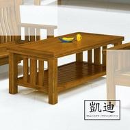 【凱迪家具】F16-14-5 198#型樟木色大茶几(面半實木) /大雙北市區滿五千元免運費