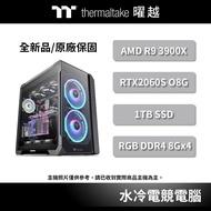 曜越 夜襲 開放式 硬管 水冷 電競電腦 R9 3900X/32G/RTX2060 Super