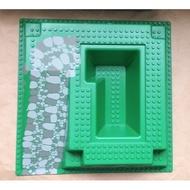 LEGO 樂高 城堡底板 Baseplate, Raised 32 x 32 6086 老物保存佳