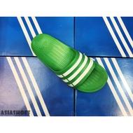 帝安諾-ADIDAS DURAMO SLIDE 一體成形 防水  輕量 拖鞋 綠色 AF4612