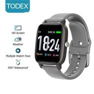 Todex ดูสมาร์ท v98l หน้าจอ HD IP67 กันน้ำทุกสภาพอากาศแสดงชีวิตยาวการตรวจสอบสุขภาพแฟชั่นสายรัดข้อมือสำหรับ Apple / Android