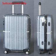 โปร่งใสผ้าคลุมกระเป๋าเดินทางกระเป๋าเดินทาง PVC PROTECTOR 20''22''24''26''28'' กระเป๋าเดินทาง