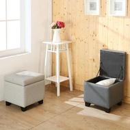 【BuyJM】羅伯特實木腳掀蓋沙發椅/收納椅/沙發凳(長39公分)