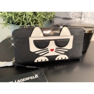 Karl Lagerfeld outlet 貓咪長夾(現貨)