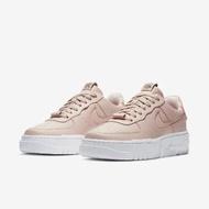 【NIKE 耐吉】休閒鞋 AF1 Pixel 運動 女鞋 解構主義 質感 簡約 皮革 穿搭 米白 白(CK6649-200)