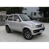 05年式 大發 Daihatsu terios 小悍馬 4WD 四輪傳動