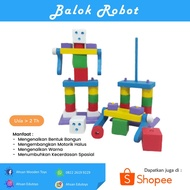 Robot Blocks Educational Toys 2 Years Old 3 Years Old 4 Years Old 5 Years Old