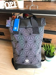 Adidas 3D Roll Top Backpack กระเป๋าเป้สะพายหลัง เปิดปิดแบบ Roll Top