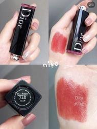 niko代購dior #740 Dior Addict Lacquer 癮誘超模漆光唇釉 唇膏 新色#847 #524