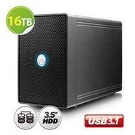 超值 16TB 磁碟陣列AKiTiO NT2 鐵甲威龍 U31C (IronWolf 8TB x 2) 3.5吋 - 2bay 磁碟陣列外接盒 USB3.1 Gen2 (USB-C)
