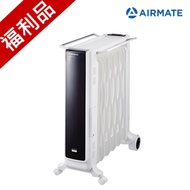 福利品 AIRMATE艾美特 11片葉片式遙控電暖器 HU1157R