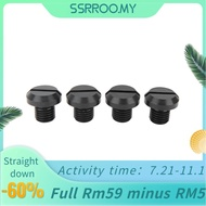 Ssrroo Suuonee Mirror Hole Plugs 2 Pair of M10x1.25 Rearview Side Screw Motorcycle Accessories Fits for Ducati Hypermotard