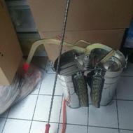 """台灣製(2"""")16公升白鐵噴霧器桶不銹鋼噴霧器/噴霧桶"""