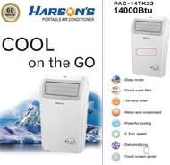 Harson's Portable Aircon 14000BTU PAC-14TK22 + FREE $50 Voucher + FREE Delivery + FREE 5 Years Warranty [SUBJECT TO STOCK AVAILABILITY]