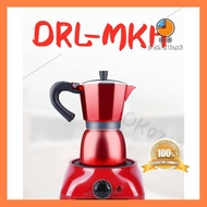ของมันต้องมี! นมอุ่นชาทำกาแฟมินิควบคุมอุณหภูมิเตาไฟฟ้าขนาดเล็กเครื่องทำความร้อนไฟฟ้าไฟฟ้าในครัวเรือนชาเตา Moka หม้อ บริการเก็บเงินปลายทาง