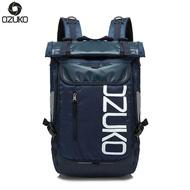 OZUKOกระเป๋าเป้สะพายหลังแฟชั่นผู้ชายผู้หญิง,กระเป๋าเป้สะพายหลังลำลองสำหรับเดินทางใส่แล็ปท็อปขนาด15นิ้วกันน้ำ