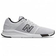 NEW BALANCE 24 男鞋 休閒 慢跑 復古 網布 白 黑 【運動世界】 MS24WB2
