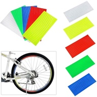 Reflective Pvc Plastic Stickers For Bicycle Wheels