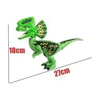 FL【New COD】Legoings Jurassic World Park Tyrannosaurus Rex Building Blocks Jurassic Dinosaur Figures Bricks Toy