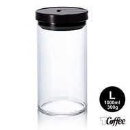 TCoffee HARIO咖啡保鮮罐黑色 L-任選 1000ml