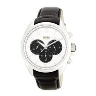 HUGO BOSS 1512880 時尚紳士三眼款 真皮錶帶 實體店面 正品販售