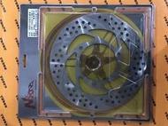 ~超機車精品~全新NCY 後固定圓碟盤 220MM 勁戰四代/BWS-R後碟適用