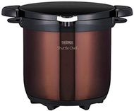 samos (thermos) samos empty cooker shuttle chef 4.5l clear brown kbg-4500 cbw