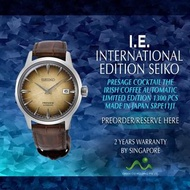 SEIKO INTERNATIONAL EDITION PRESAGE AUTOMATIC COCKTAIL THE IRISH COFFEE MADE IN JAPAN SRPE11J1 LIMITED EDITION 1300PCS