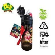 Didi & Friends Limited Edition Tritan Water Bottle With Straw [550ml] Botol Air Bekal Bekas Budak Kanak kanak Tupperware