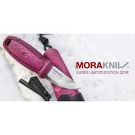 【MORAKNIV 瑞典】ELDRIS NECK KNIFE KIT 不鏽鋼短直刀組 附掛繩、打火石【阿爾卑斯戶外】