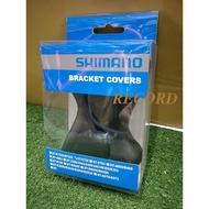 紀錄單車 全新shimano ST-5700原廠握把套/手握套/手把套/手變套/變把套(黑色)