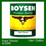 Paint Thinner 1 GALLON BOYSEN