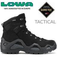 Lowa 軍靴/戰術靴/戰鬥靴/中筒軍用鞋/防水登山鞋 Z-6S GTX Mid男 LW310668 0999 黑色