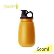 【山野賣客】Koozio / 亮桔色水壺- 600ml 水瓶, 不鏽鋼水壺 休閒水壺 自行車水壺 衛生無毒