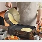 【leye】304不鏽鋼附把手調理攪拌碗 3L(日本製)