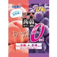 ORIHIRO  ORIHIRO蒟蒻果凍 璞做魔芋Zerizero白桃+葡萄12