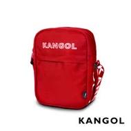 KANGOL LIBERTY系列 韓版潮流LOGO背帶小型側背包-紅色 KG1194