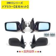 有BMW E53 X5 1999-2007y門鏡左右反光鏡加熱器的電動存放藍色鏡子存儲器功能有歡迎電燈覆蓋物 AUTO PARTS JAPAN
