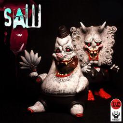 【撒旦玩具 SatanToys】預購 Unbox x Nomiwa 般若綿綿 天狗星星 奪魂鋸 海綿寶寶 派大星 設計師