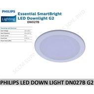 "PHILIPS LED DOWN LIGHT DN027B G2 6"" Round"