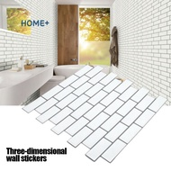 3D Self Adhesive Sticker Kitchen Wall Tiles Peel Stick Decoration for Bathroom Home @my