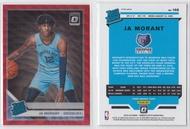 2019-20 Panini Donruss Optic Red Wave Ja Morant #168 RC (NBA Card)