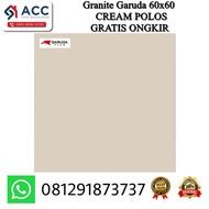 [PROMO EKSKLUSIF] Granit Granite Garuda 60X60 62001 Cream Polos Kw 1 - Granite Lantai MURAH