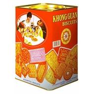 Khong Guan Biscuit 1600gr / Khong Guan Kaleng / Khong Guan Biscuits
