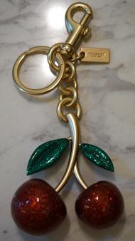 COACH 櫻桃鑰匙圈 F58516