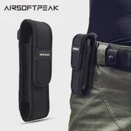 AIRSOFTPEAK XTAR T220ไฟฉายกระเป๋าไฟฉายLEDกระเป๋าซองตั้งแคมป์เดินป่ากระเป๋าเข็มขัดยุทธวิธีสำหรับFenix XTAR TZ20